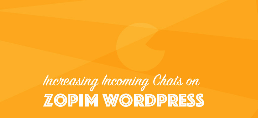 [Zopim Hack] Zopim Integration with WordPress & Hack to Increase Chats