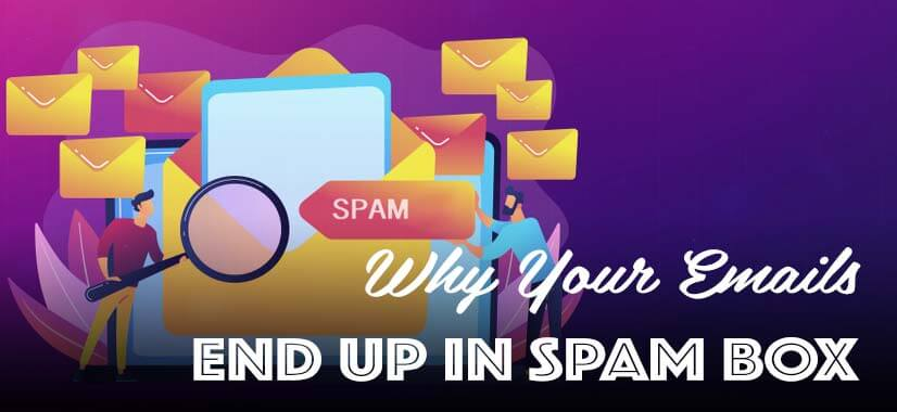 Why emails go into spam folder